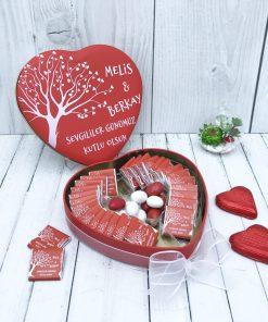 Sevgililer Günü Kalpli Kutu