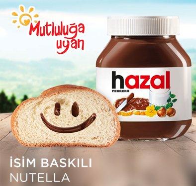 İsme Özel Nutella